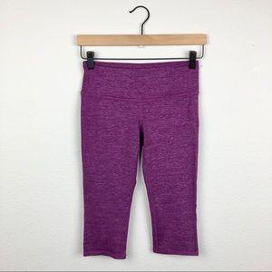 ATHLETA Chataranga Tight Crops in Purple Women's E